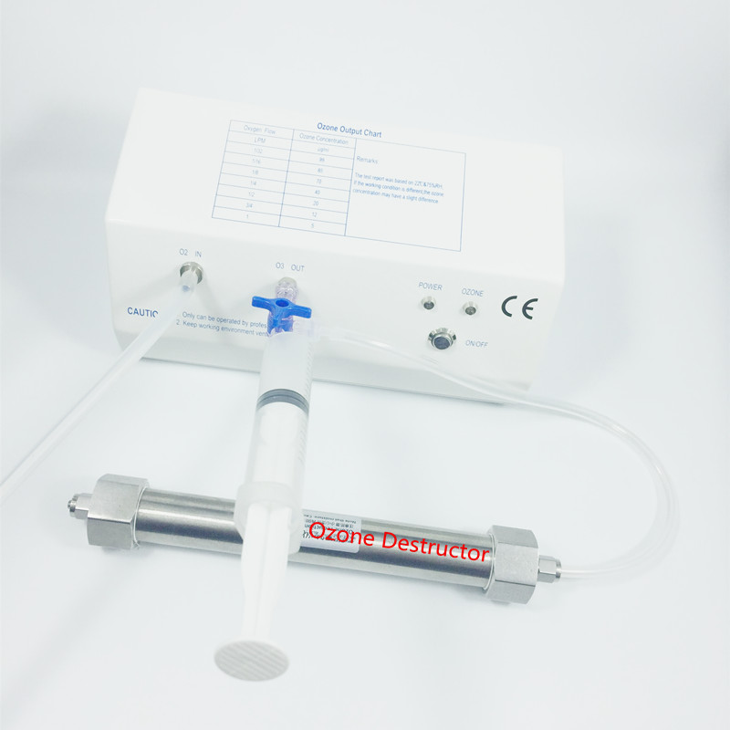 OZOTEK 18 110 ug mL MINI Medical Ozone Therapy Generator OZONE Machine with Ozone Destructor MOG004