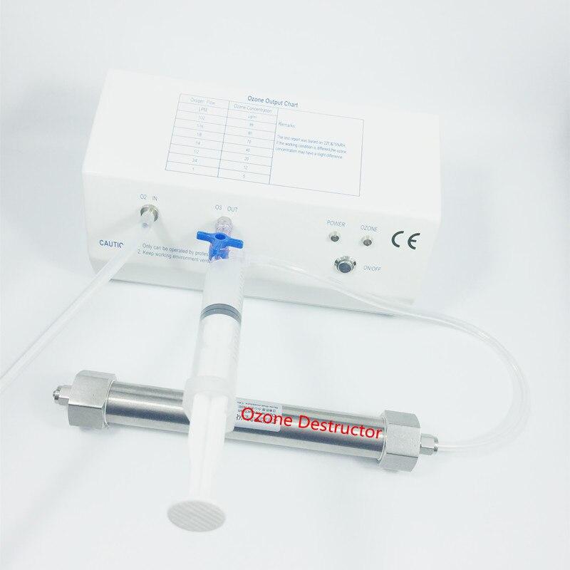 OZOTEK 18-110 ug/mL MINI Thérapie D'ozone Médical Générateur D'OZONE Machine à L'ozone Destructeur MOG004 CE ROSH