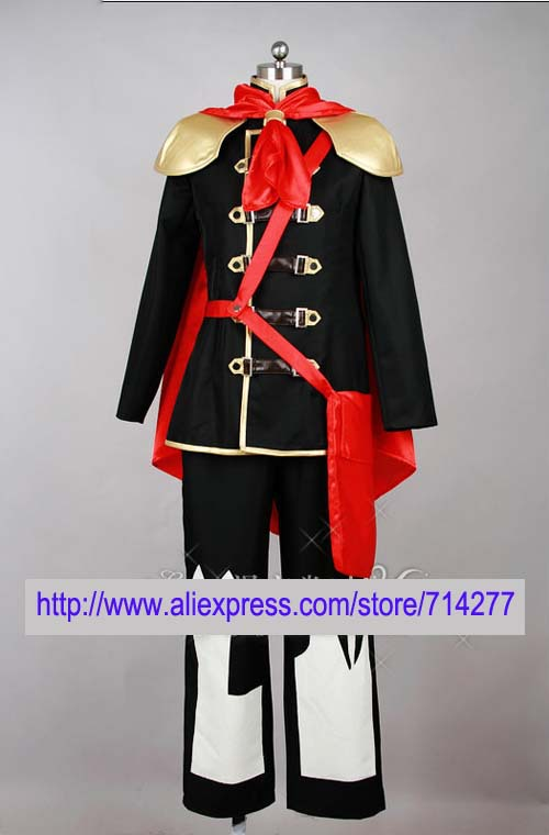 Free shipping Custom Cheap Ace Cosplay Costume (163-C01) from Final Fantasy Type 0 Christmas