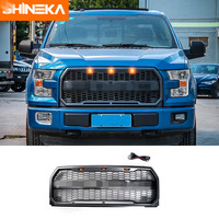 Fit F150 Raptor Style Front Grille With LED F150 Raptor Grille With LED Light For Ford