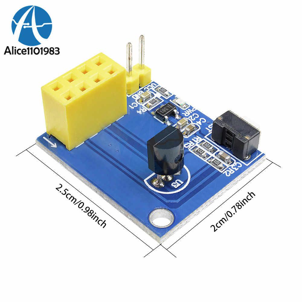 ESP8266 ESP-01 DS18B20 Temperature Humidity Sensor Adapter Module Wifi  NodeMCU For Arduino Smart Home IOT DIY Kit