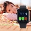S5 Bluetooth SmartWatch GSM Sim-карты Слот Позиционирования Наберите Звонок часы Для Samsung S4/Note 3 Для HTC Для Android Для Windows