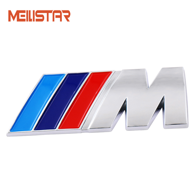 1pcs ABS Car M Power Emblem Badge Fender Sticker For BMW E46 E39 E90 E36 E60 E34 E30 F30 F10 F15 E53 E38 X5 E53 X6 X1 X3 M3 M5 cool car auto decoration badge stickers m logo metal 3d car sticker for bmw m3 m5 x1 x3 x5 x6 e36 e39 e46 e30 e60 e92 all model
