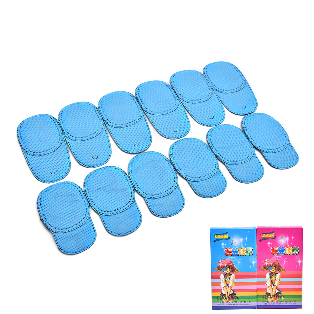 Hot Selling 6Pcs Child Occlusion Medical Lazy Eye Patch For Amblyopia Kids Children S M