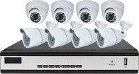 8CH CCTV System 1080N HDMI DVR 4PCS 1080P Outdoor Camera 4PCS Indoor Camera