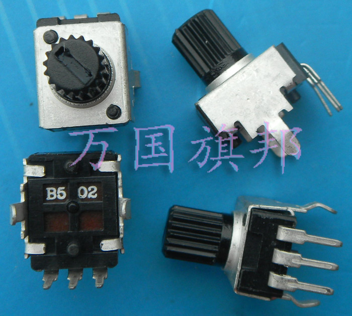 Бесплатная доставка. Тип R0902N 09 год 0932 потенциометр B5K B502 5 o k вертикальный короткий хвостовик