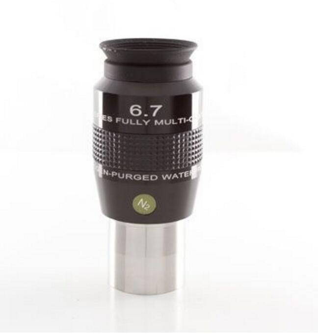 Explore Scientific 6.7mm 82 degree wide angle eyepiece Waterproof and waterproof ES 82 eyepiece