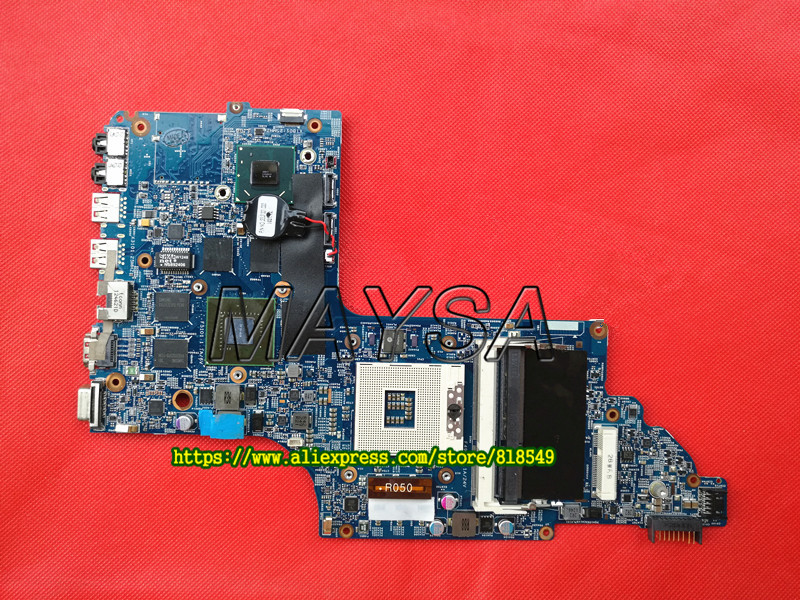 Genuine 682040-001 HM77 650M/2G Discrete MotherBoard Fit for HP DV7 DV7-7000 series Notebook PC MB, Full tested nokotion 682040 501 682040 001 for hp pavilion dv7 dv7t dv7 7000 laptop motherboard 17 inch gt650m 2g graphics