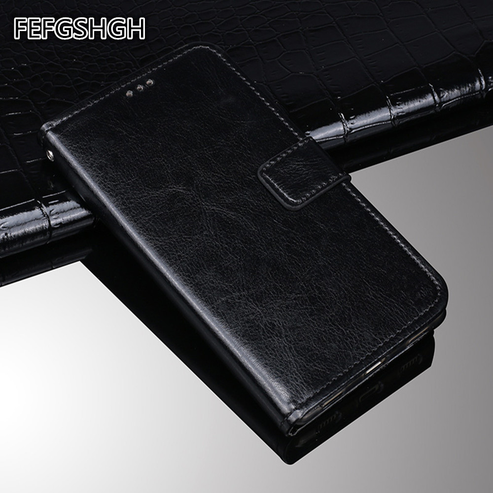 For General Mobile 4G Luxury Wallet PU Leather Case Cover For General Mobile GM5 Cover Protection Flip Phone Case Coque image
