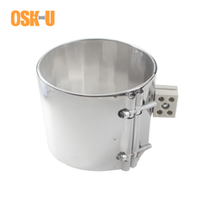 120mm Inner Diameter Stainless Steel Band Heater 100/110/120mm Height Ceramic Electric Element Wattage 1100/1200/1350W