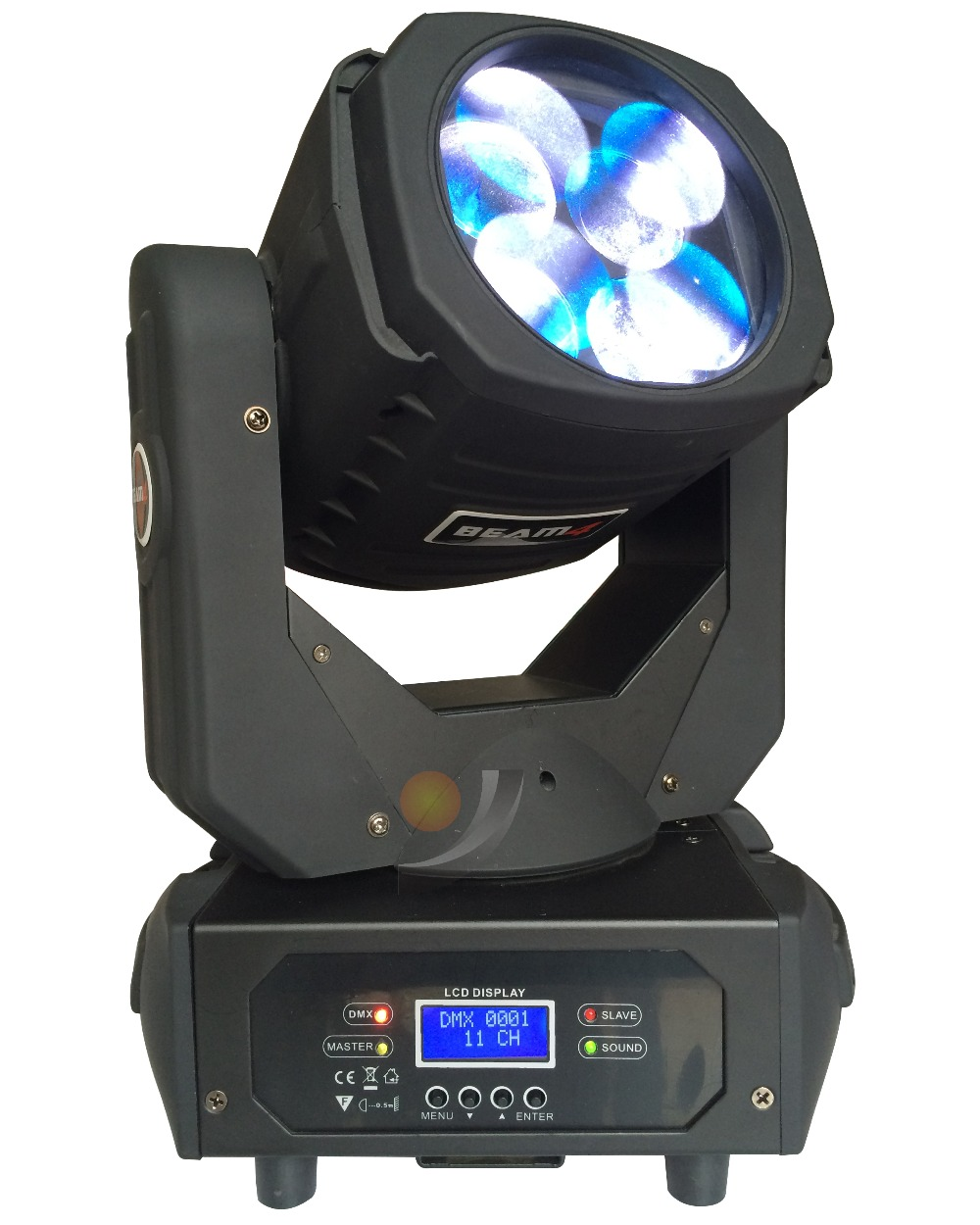 4x 25W Colorfu LED Super Beam Moving Head Light For Disco Nightclub DJ Bar Gobo Beam led stage light
