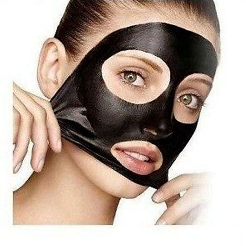 PILATEN Black Mask Tearing Style Deep Cleansing Purifying Peel Off Black Head, Close Pore, Face Mask Blackhead Remover Pore Strip