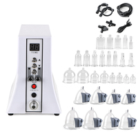 New2018 Electric vacuum therapi machine Lymph Drainage/Face Slimming/ breast enlarger beauty instrument enhancing cupping device
