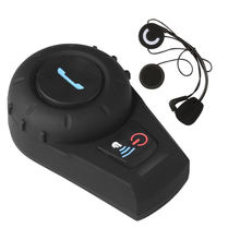 Bt Motorcycle Intercom Motorbike Helmet Bluetooth Intercom Communication System Interphone Headset For Riding Skiing
