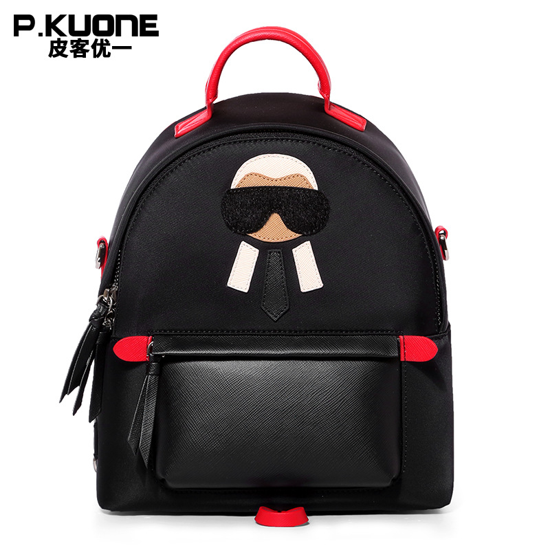 a6625a10ab Detail Feedback Questions about P.KUONE 2018 New Arrived Nylon Women Mini  Backpack Famous Brand Shoulder Bag Female High Quality School Bag For  Teenager ...
