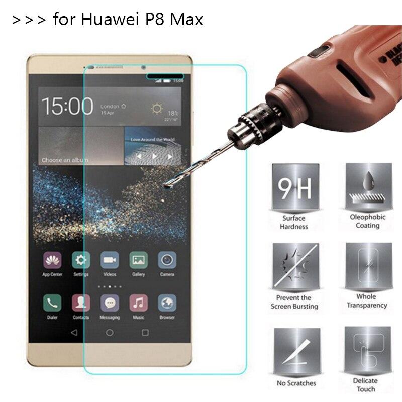 bilder für 10 Teile/los 2.5D 0,26mm 9 H Erstklassiger Ausgeglichenes Glas-schirm-schutz für huawei p8 max einscheiben-schutzfolie für huawei p8 MAX