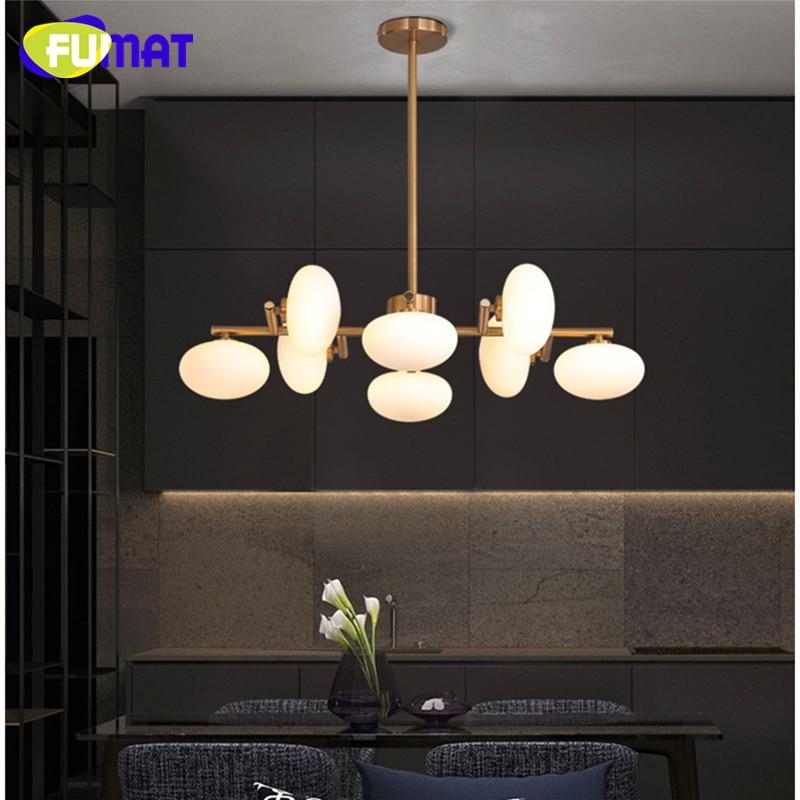 Modern Glass Magic Bean Chandeliers Living Room Dinning Room Lamps Creative Designer Round Bedroom Restaurant Light Fixtures