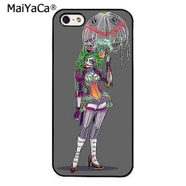 another chance 69079 e197e US $3.67 8% OFF|MaiYaCa Joker Girl Batman Harley Quinn Phone Case Cover For  iPhone 5s SE 6 6s 7 8 plus 10 X Samsung Galaxy S6 S7 S8 edge note 8-in ...