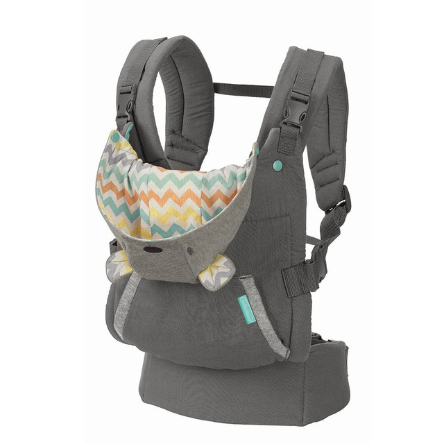 Breathable Ergonomic Baby Carrier Backpack Portable Infant Baby Carrier Kangaroo Baby Sling Carrier Wrap(with hat)