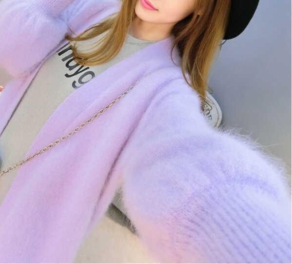 Натуральная норковая кашемировая Толстая теплая куртка настоящий натуральный настоящий свитер кашемир с норкой Роскошная Фабрика оптовая продажа OEM, скидка DFP892