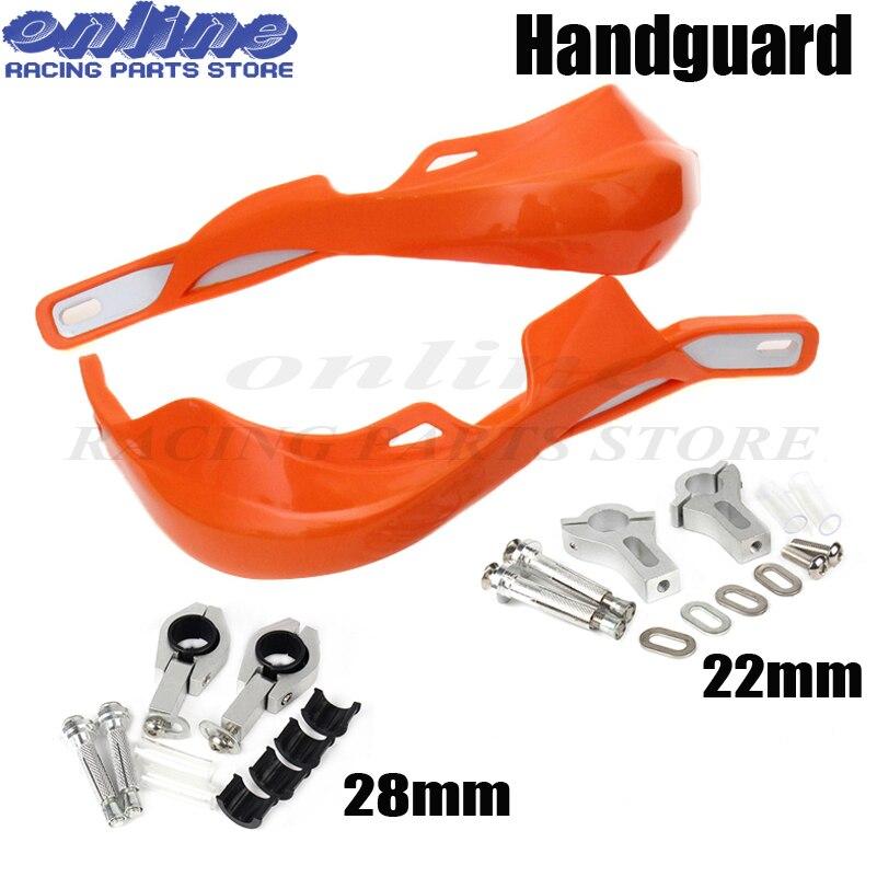 Handguards Hand Guards Guard Handguard Universal 7//8 inches 22mm and 1 1//8 inches 28mm Motocross Dirt Bike off Road ATV Yamaha Kawasaki Suzuki Honda KTM