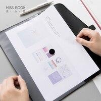 2 TEILE/LOS Business Pu-leder Dateiordner A4 Transparent Dokumententasche Doppeltasche File Organizer