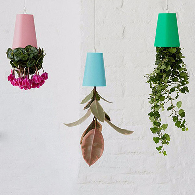 We offer best service and great prices on high quality products! & UPSIDE DOWN HANGING FLOWER POTS