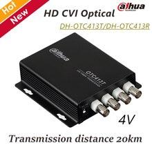 Dahua 4V HD CVI Optical DH-OTC413T DH-OTC413R 720P Transmission 20KM Video Optical Transmitter & Receiver for CCTV Accessories