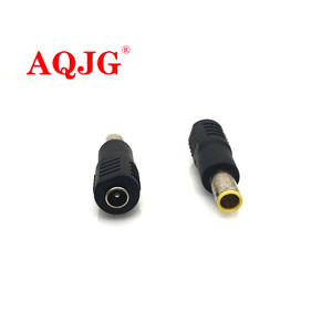 1PCS 5.5 x 2.1 mm female to 7.9 x 5.5 mm male DC Power Connector Adapter Converter 5.5*2.1 to 7.9*5.5 mm For IBM Laptop