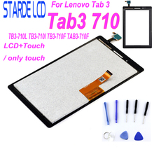 цена на New 7 LCD Display With Touch Screen Digitizer For Lenovo Tab 3 710 Essential tab3 710 TB3-710L TB3-710I TB3-710F TAB3-710F Parts