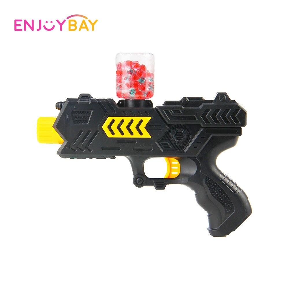 Enjoybay Water Gun Toy Air Soft Bullet/ Crystal Ball Guns Soft Paintball Pistol Toys CS Game Shooting Gel Balls Beads Airgun Toy