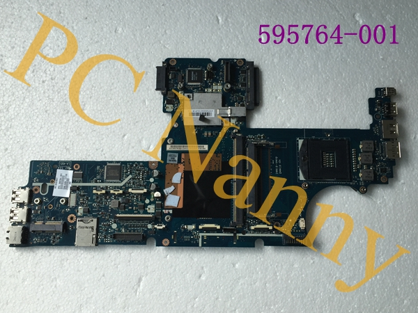 LAPTOP MOTHERBOARD for HP EliteBook 8540P 8540W KAQ00 LA-4951P 595764-001 INTEL DDR3 with graphics slot