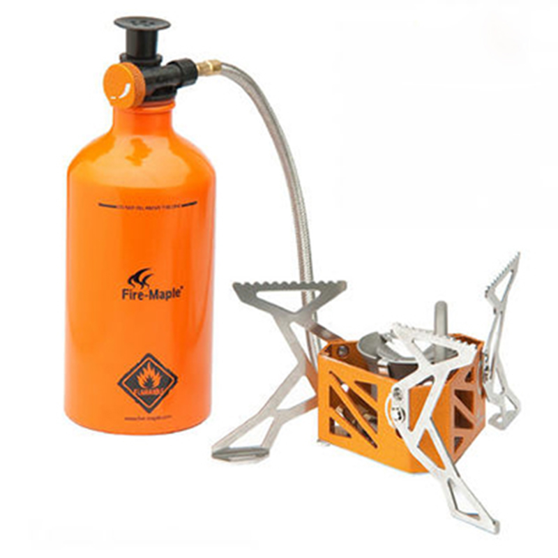 Fire Maple FMS-F3 Outdoor Engine Split Camping Stove Gas Kerosene Stove Sets Picnic Stove FMS-B500 FMS-B750 FMW-501 FMS-F3 fire maple fmw 503 colorful portable 9 section windshield
