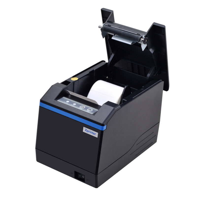 New Arrived  Thermal Label / Receipt Printer Thermal QR Barcode Printer For Jewelry, Tea Shop, Clothing Store
