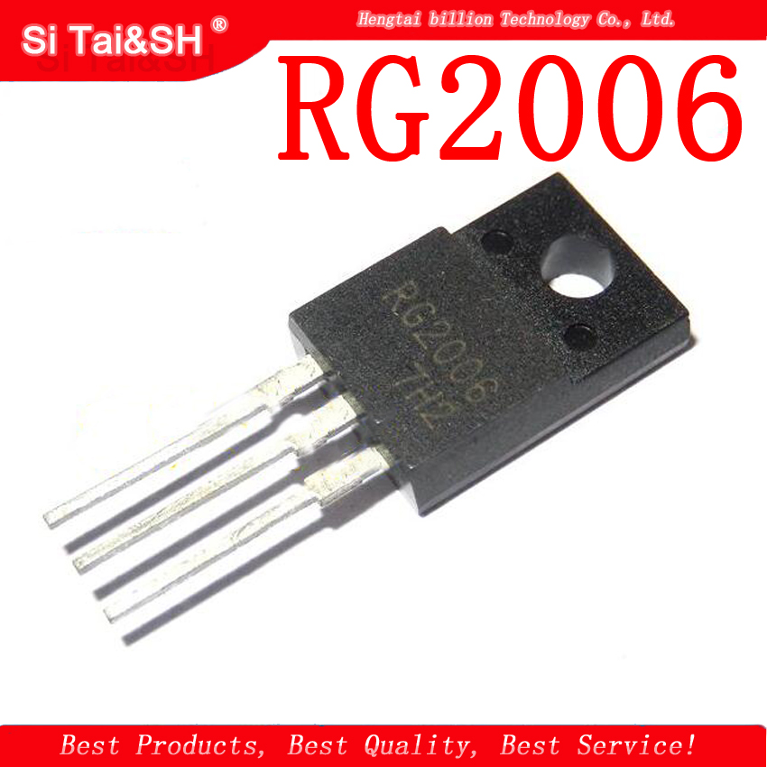 5pcs/lot RG2006 RG2006N TO-220F 20A 600V Fast Recovery Plasma Tube