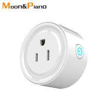 USA Smart Mini Socket Wifi Wireless APP Remote Power Switch Home Power Plug for Amazon Alexa Google Outlet Voice Intelligent недорого