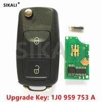 Upgrade Car Remote Key For 1J0959753A 5FA8137 00 Lupo Bora Passat Polo Golf Beetle 1997 1998