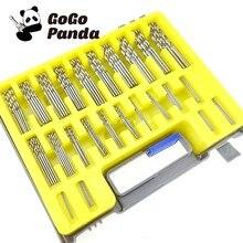 Il trasporto Libero 150 Pz MiniTwist Drill Bits Set Scatola di Plastica  (0.4mm-3.2mm) In Acciaio Ad Alta Velocità HSS Microperfo. 7c0a3557b2ac