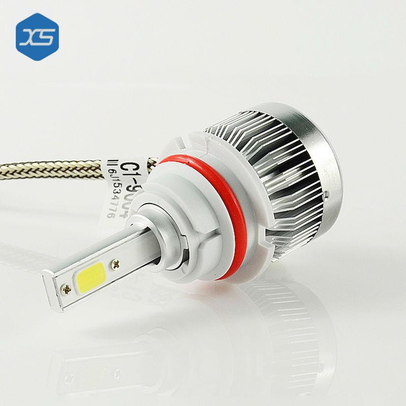 ФОТО 2PCS Auto LED Headlight 12V 30W 6000K White Car COB Light H4 H13 9004 9007 HI/LO light,led replacement bulbs