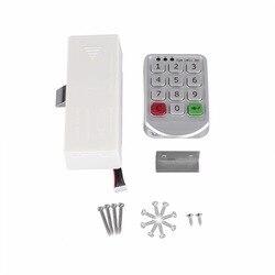 Inteligentny cyfrowy zamek szyfrowy klawiatura elektroniczna numer szafki ze stopu cynku i tworzywa sztucznego inteligentny zatrzask do szafki|cabinet latch|code lockdoor code lock -