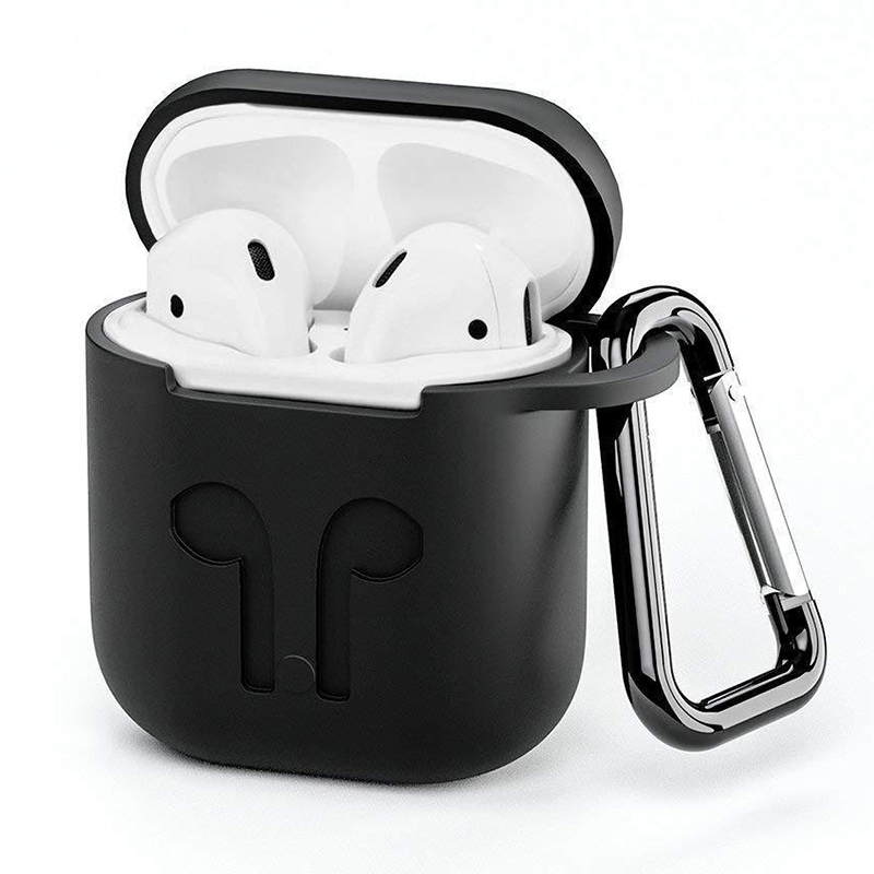 Silicone Case For Airpods Earphone Wireless Bluetooth Headset Protective Sleeve Cover