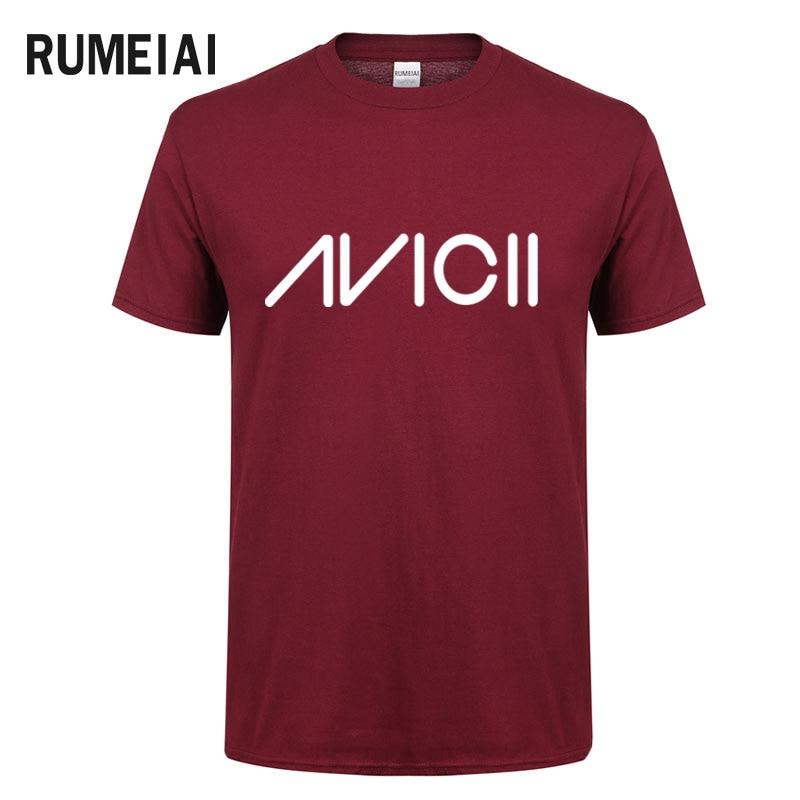 2018 DJ Avicii R.I.P Hip Hop T-shirt Men/Women Fans short sleeves T-shirt Men Summer Cotton Casual Popular Tshirt