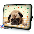 "Free shipping Customizable Cute Puppy 13"" Laptop Sleeve Case Bag Soft Neoprene Pouch For 13"" 13.3"" Laptop Macbook  notebook"