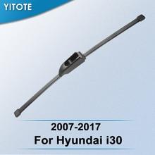 YITOTE Задняя щетка стеклоочистителя для hyundai i30 2007 2008 2009 2010 2011 2012 2013
