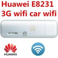 Unlocked HUAWEI E8231 3G 21Mbps WiFi Dongle 3G USB Wifi Modem Car Wifi Support 10 Wifi