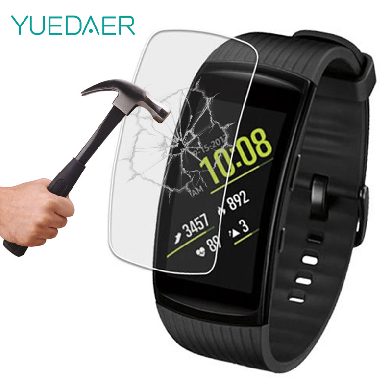 Yuedaer Anti-scratch Soft TPU Screen Protectors For Samsung Gear Fit 2 Pro Smart Band HD Clear Full Cover For Samsung Gear Fit 2