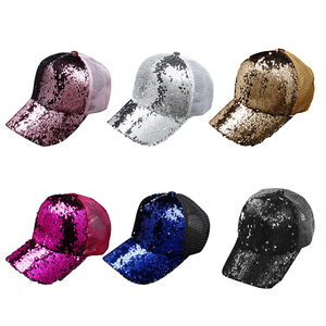 baseball Hip Hop cap Sequins F