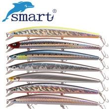 SMART Sinking Minnow Fishing Lure 175mm 37.34g VMC Hook Tungsten Balls For Carp Fishing Peche Iscas Synthetic Para Pesca Leurre