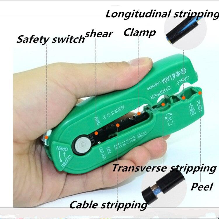 Márka Mini fogó Wire Stripper Multifunkcionális kábel Wire - Kézi szerszámok - Fénykép 4