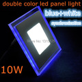 10 W praça LED acrílico painel de LED teto rebaixado painel Down Light lâmpada branco fresco com bule AC85-265V frete grátis